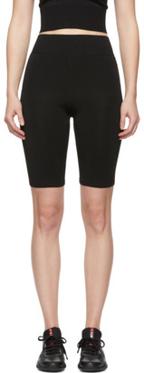Fleur Du Mal Black Knit Bike Shorts