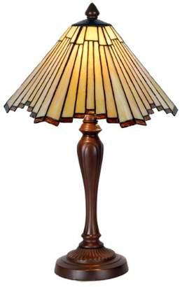 Tiffany & Co. Zhimei Style Table Lamp, E14, 22 W, As Photo