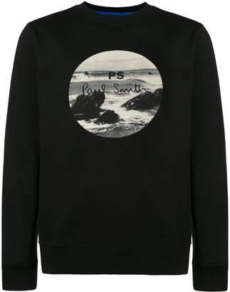Paul Smith logo print sweatshirt