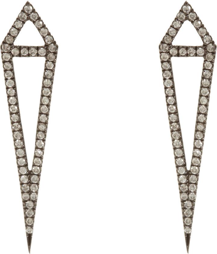 Eva Fehren Diamond Dagger Earrings