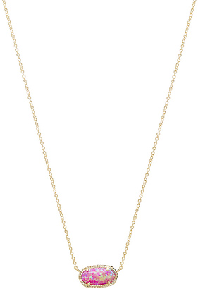 Kendra Scott Elisa Necklace in Metallic Gold. $85 thestylecure.com