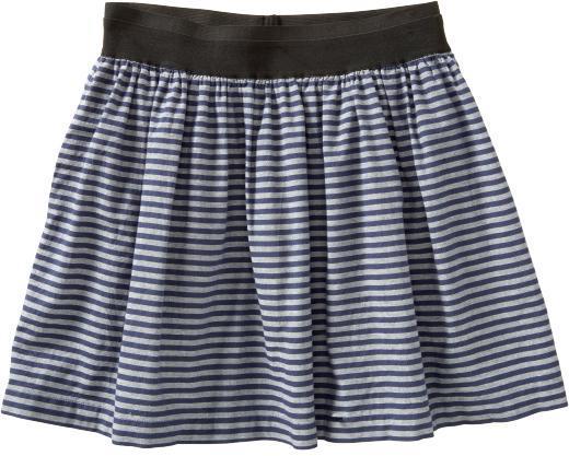 Women's Oxford-Stripe Skirts