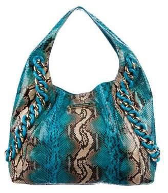 Michael Kors Python ID Chain Bag