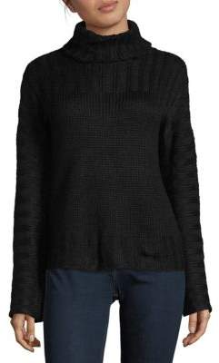 Saks Fifth Avenue RED Pullover Turtleneck Sweater