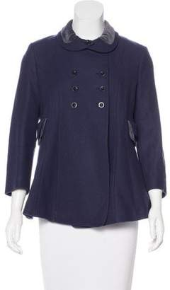 See by Chloe Double-Breasted Wool Coat
