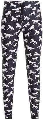 The Upside Ballet horse-print performance leggings