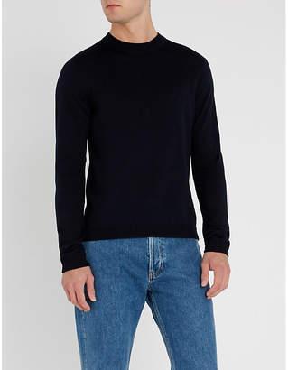 Sandro Crewneck merino-wool jumper