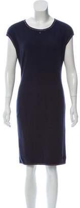 Chanel Sleeveless Rib Knit Dress