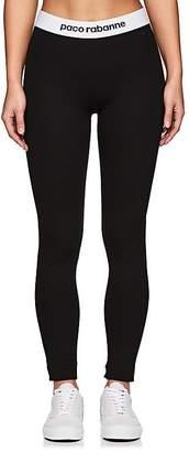 Paco Rabanne Women's Logo-Waistband Leggings