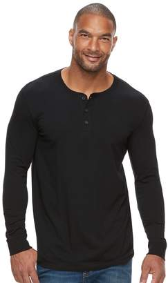 Sonoma Goods For Life Big & Tall SONOMA Goods for Life Flexwear Slim-Fit Stretch Henley