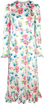 Jill Stuart floral print midi dress