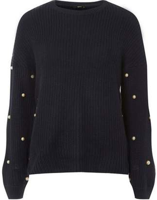 Dorothy Perkins Womens **Only Black Pearl Jumper
