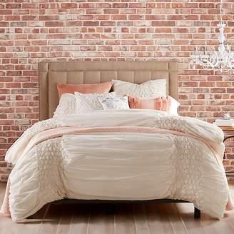 Peri Home Triangle Braid Comforter Set, Twin