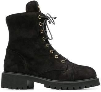 Giuseppe Zanotti Design Combat 25 boots