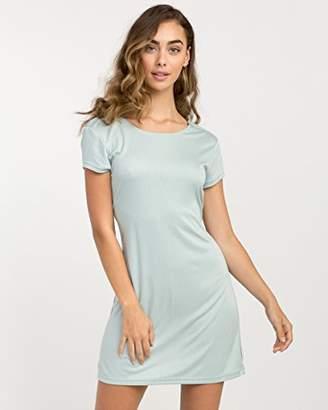 RVCA Junior's WallFlower T-Shirt Dress
