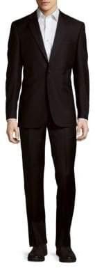 Saks Fifth Avenue Wool Peak Lapel Slim-Fit Tuxedo
