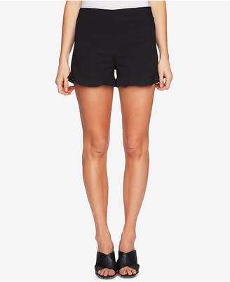 1 STATE 1.state Ruffled-Hem Shorts