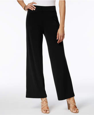 Jm Collection Pull-On Wide-Leg Pants, Created for Macy's $49.50 thestylecure.com