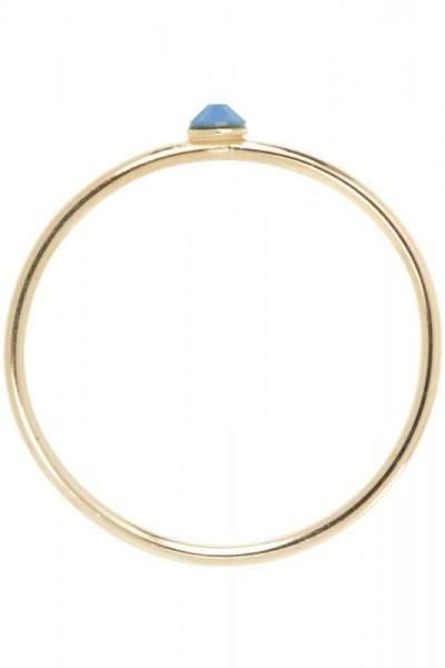Styleserver DE Pliet.sh Plietsh Fine Ring mit blauem Swarovski 56