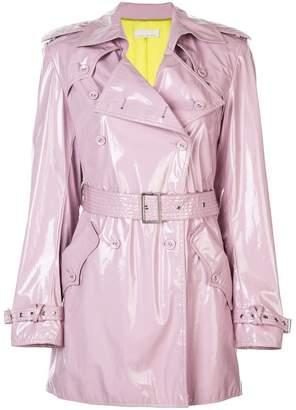 Fleur Du Mal pvc mini trench jacket