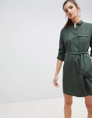 Jack Wills Helford Belted Shirt Dress