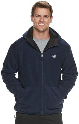 New Balance Men's Sherpa-Lined Hooded Jacket