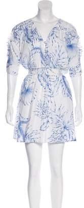 Mayle Woven Mini Dress