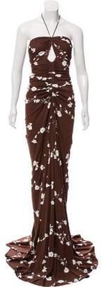 Michael Kors Sequin-Embellished Maxi Dress w/ Tags