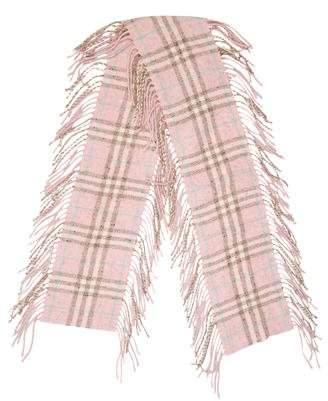 Burberry Wool & Silk-Blend Scarf
