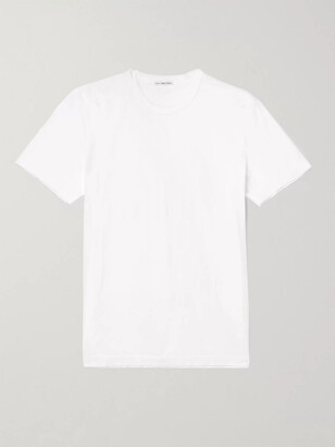 James Perse Combed Cotton Jersey T-Shirt - Men - White