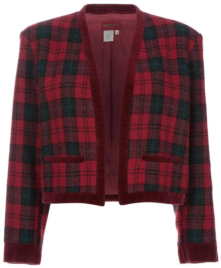 Kenzo Vintage Tartan jacket