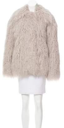 Stella McCartney 2015 Thelma Faux Fur Coat
