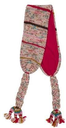 Catimini Girls' Knit Braided Scarf