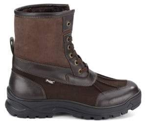 Ice Gripper Leather Winter Boots