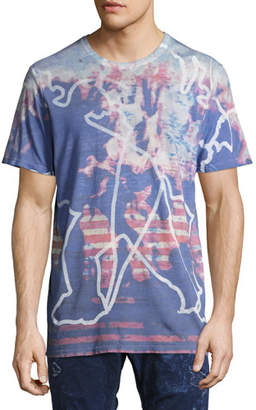 PRPS Outdoors Cloud Dyed T-Shirt, White