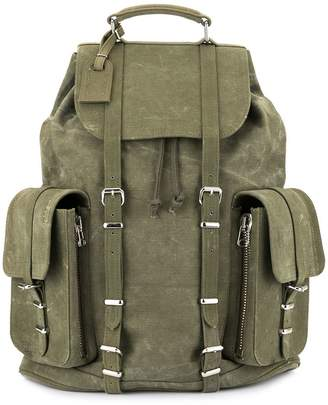 Readymade buckle strap backpack