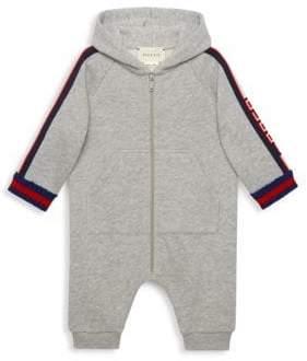 63d28fda0204 ... Gucci Baby Boy s Hooded Sleepsuit