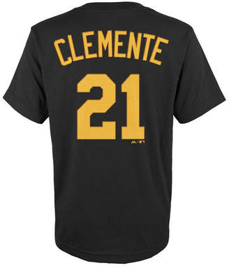 Majestic MajesticRoberto Clemente Pittsburgh Pirates Player T-Shirt