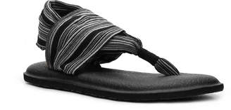 Sanuk Yoga Sling Striped Flat Sandal - Women's