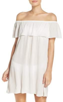 Becca Southern Belle Off the Shoulder Cover-Up Dress