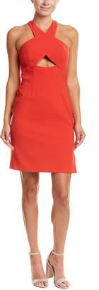 BCBGMAXAZRIA Cutout Sheath Dress