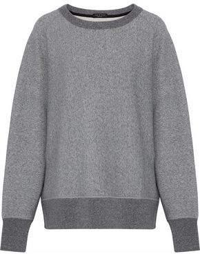 Rag & Bone Racer French Cotton-Terry Sweatshirt