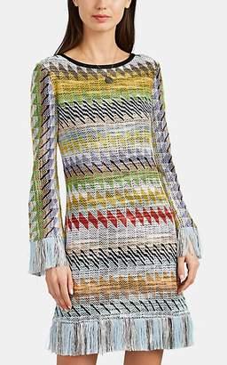 Missoni Women's Rhombus-Pattern Cotton-Blend Dress