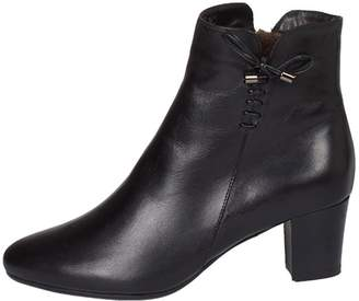 Lady Doc Heeled, Ankle, Black