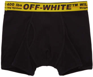Off-White Black Industrial Tape Boxer Briefs