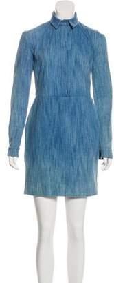 ATEA OCEANIE Denim Mini Dress