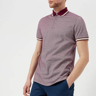 29a8560446d04d Ted Baker Men s Poodal Stripe Detail Polo Shirt