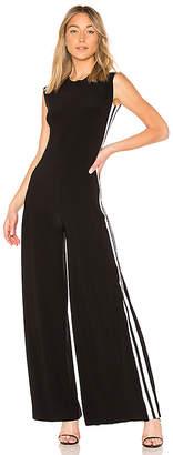 Norma Kamali Side Stripe Jumpsuit