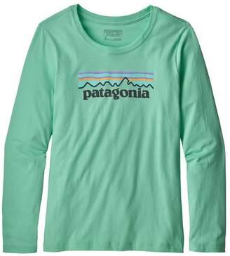 Patagonia Girls' Long-Sleeved Graphic Organic T-Shirt