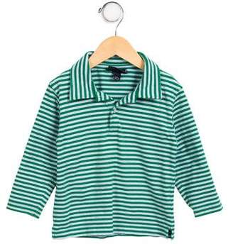 Oscar de la Renta Boys' Striped Long Sleeve Shirt